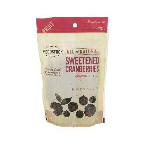 Woodstock Sweetened Cranberry (8x8.5OZ )