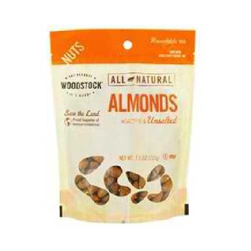 Woodstock Roasted N/S Almonds (8x7.5OZ )