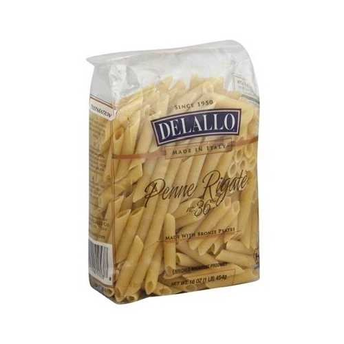 De Lallo Penne Rigata Bag (16x16OZ )