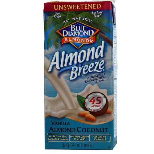Blue Diamond Almond Coconut Unsweetened Van (12x32OZ )