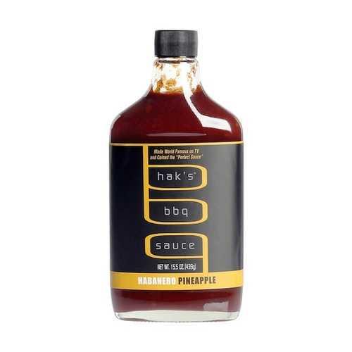 Hak's Bbq Sauce Habanero Pineap Sauce (6x15.5OZ )