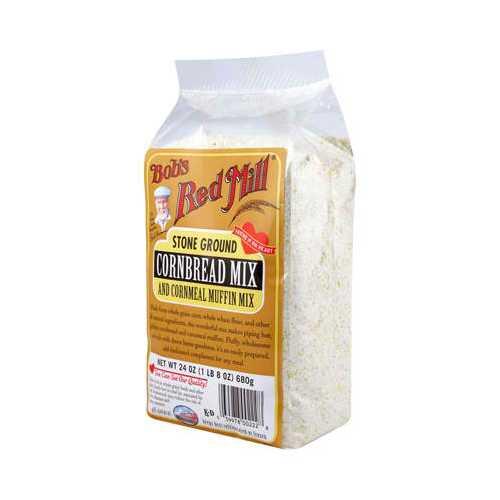 Bob's Red Mill Cornbread Muffin Mx (4x24OZ )