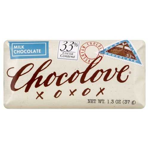 Chocolove Mini Br Milk Chocolate (12x1.3OZ )