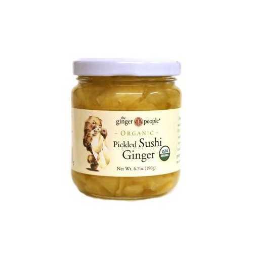 Ginger People Pkld Sushi Ginger (12x6.7OZ )