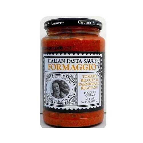 Cucina & Amore Formaggio Sauce (6x16.8OZ )