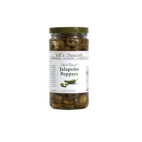 Jeff's Naturals JalapenoSliced Tamed (6x12OZ )