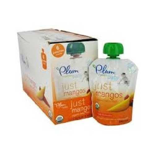 Plum Organics Just Mangos (6x3.5OZ )