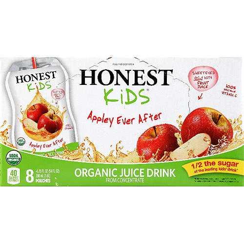Honest Kids Appley Juice (4x8Pack )
