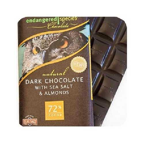 Endangered Species Owl Bar Chocolate (12x3OZ )