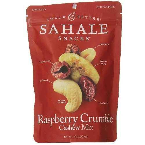 Sahale Snacks Raspberry Crumble Cashew Mix (4x8 OZ)