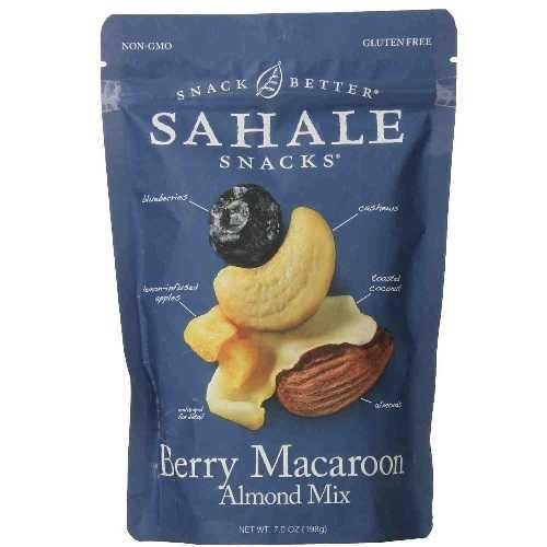 Sahale Snacks Berry Macaroon Almond Mix (4x7 OZ)
