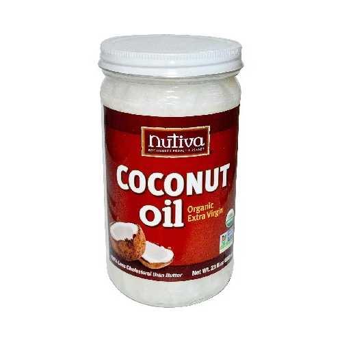Nutiva Xvr Coconut Oil (6x23OZ )
