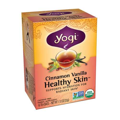 Yogi Teas Cinnamon/Vanilla Healthy Skin Tea (6x16BAG)