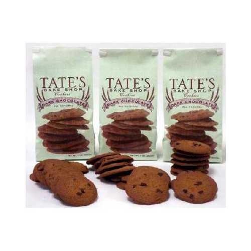 Tate's Bake Shop Ww Dark Chocolate Cookie (12x7OZ )