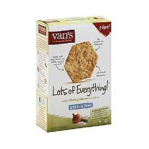 Van's International Foods Everything Crackers (6x5OZ )