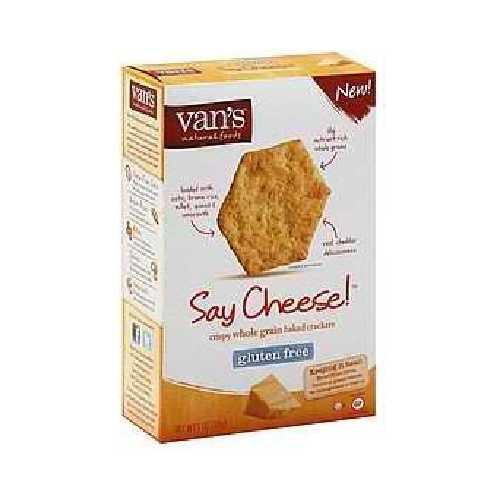 Van's International Foods Say Cheese Crackers (6x5OZ )