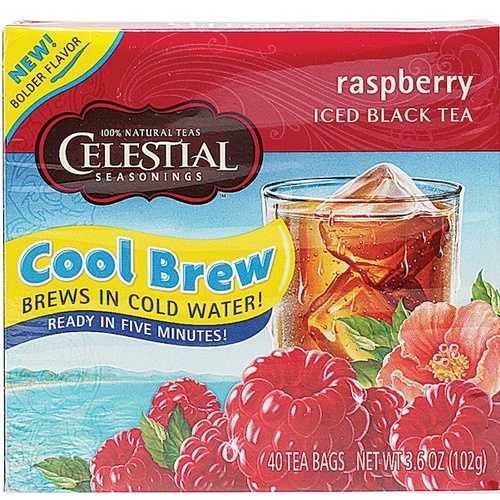 Celestial Seasonings Raspberry Cool Brew Iced T (6x40BAG )