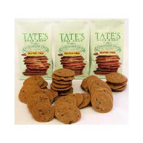 Tate's Bake Shop Chocolate Chip Cookie GF (12x7OZ )