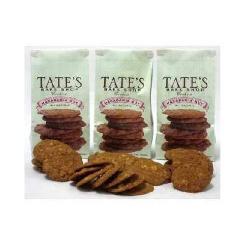 Tate's Bake Shop Macadma WhtChocolate Cookie (12x7OZ )