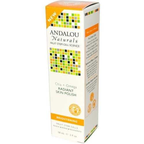 Andalou Naturals Chia/Omega Skin Polish (1x2OZ )