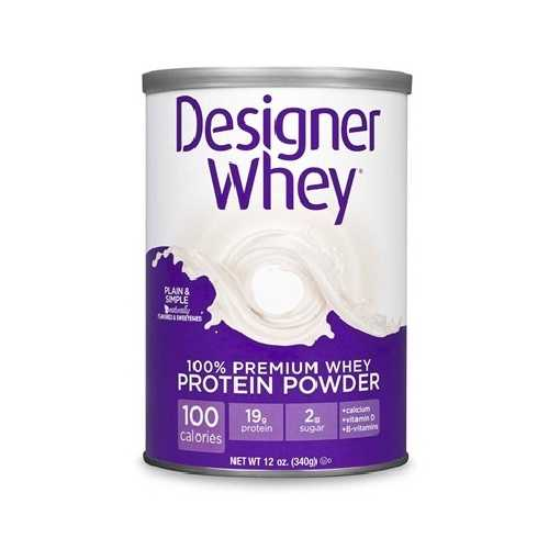 Designer Whey Plain/S Mapple Protein Powder (1x12OZ )