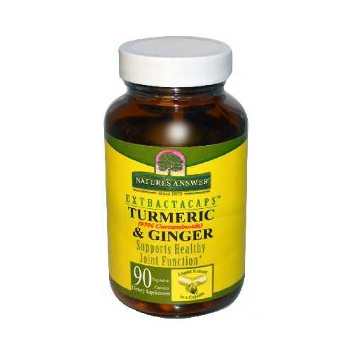 Nature's Answer Turmeric & Ginger (1x90VCAP)