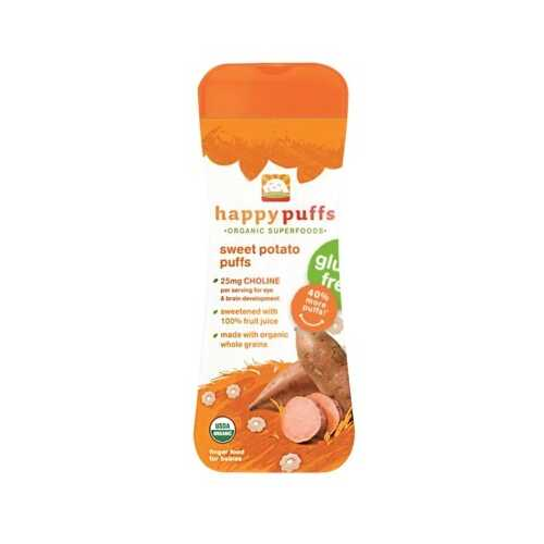 Happy Puffs Sweet Potato GF (6x2.1OZ )