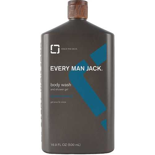 Every Man Jack Wash, Signature Mint (1x16.9 OZ)