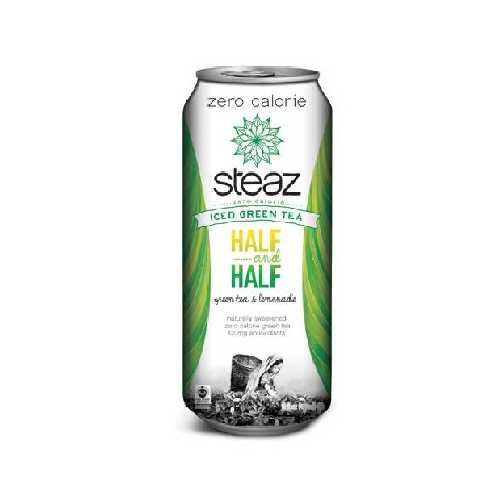 Steaz Half/HaLeaf Tea (12x16OZ )