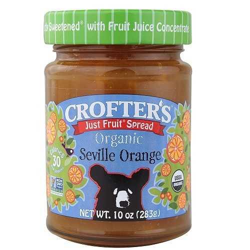Crofters JstFruit Orange Sprd (6x10OZ )