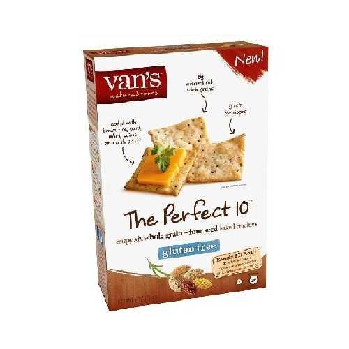Van's International Foods Perfect 10 Crackers (6x4OZ )