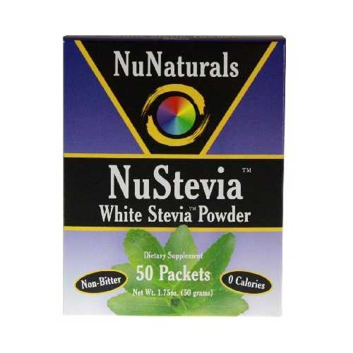 Nunaturals Stevia Powder (1x50PKT )