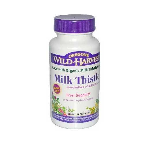 Oregon's Wild Harvest Milk Thstl 80% (1x90VCAP)