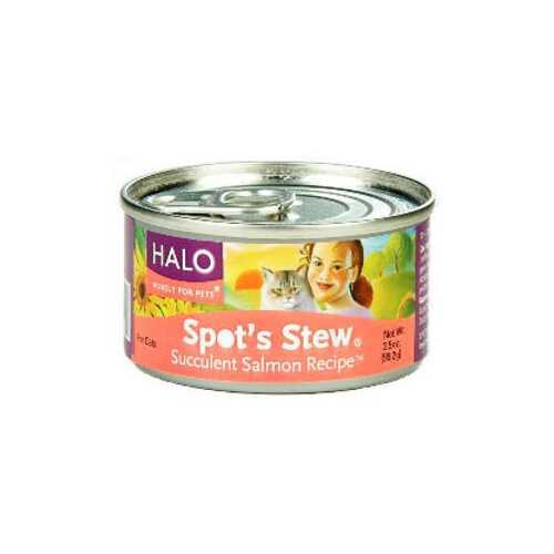 Halo Salmon Wet Cat Food (12x3OZ )