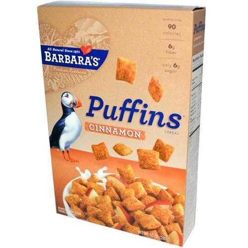 Barbara's Bakery Cinnamon Puffins (12x10OZ )
