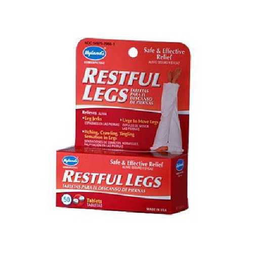 Hylands Homeopathic Remedies Restful Legs (1x50TAB )