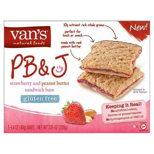 Van's International Foods PB&J Strawberry Chips (6x5x1.4 OZ)