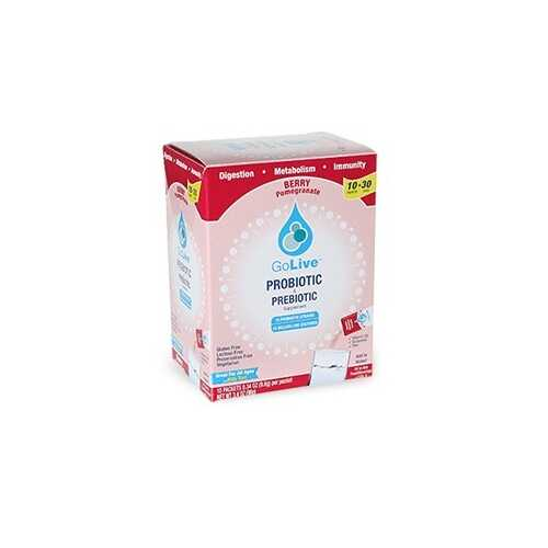Go Live Berry Drink Mix (1x10 CT)