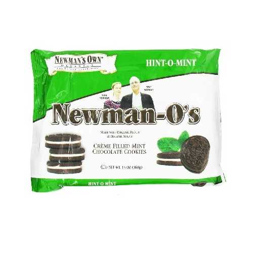Newman's Own Organics O's Mint Creme (6x13OZ )