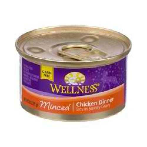 Wellness Cat Cut Minced Chicken (24x3OZ )