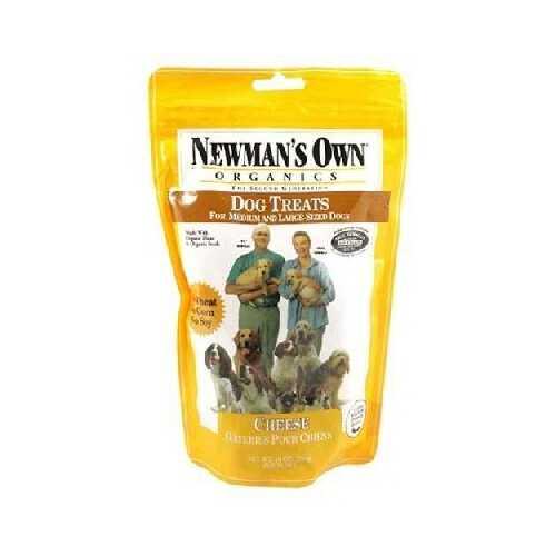 Newman's Own Organics Cheese Med Dog Trt (6x10OZ )