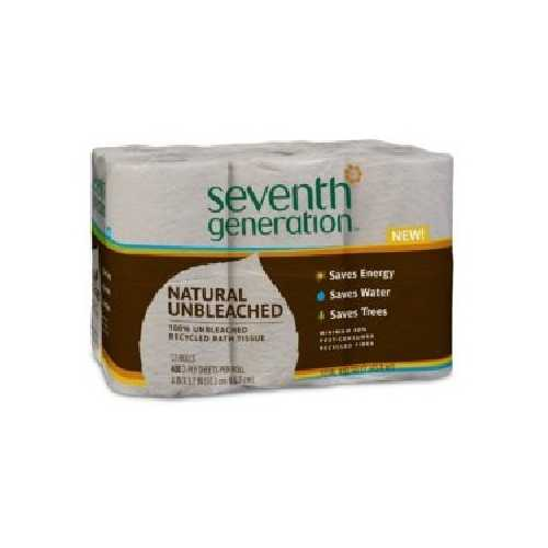 Seventh Generation Nat Unbl Bath Tsue (4x12 CT)
