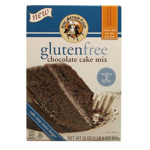 King Arthur Flour GF Chocolate Cake Mix (6x22OZ )