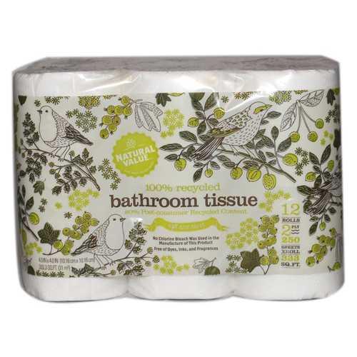 Natural Value 12 Pk Bathroom Tissue (8x12PK )