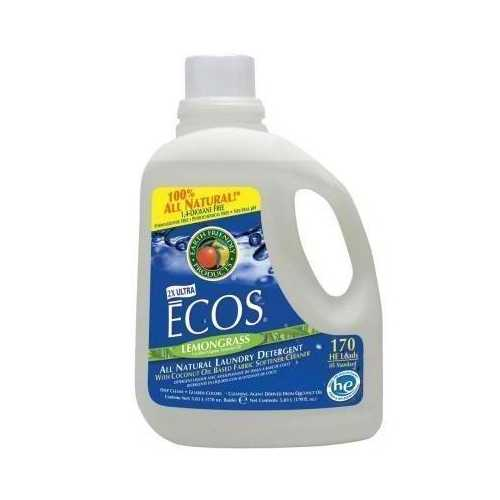 Earth Friendly Ecos Lemongrass Laundry Det (2x170OZ )
