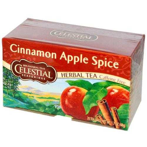 Celestial Seasonings Cinn Apple Spice Tea (6x20BAG )
