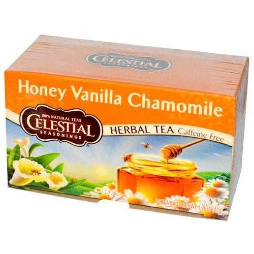 Celestial Seasonings Honey Van Chamomile Tea (6x20BAG )