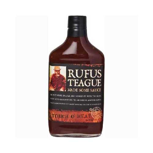 Rufus Teague Touch O Heat Bbq Sauce (6x16OZ )