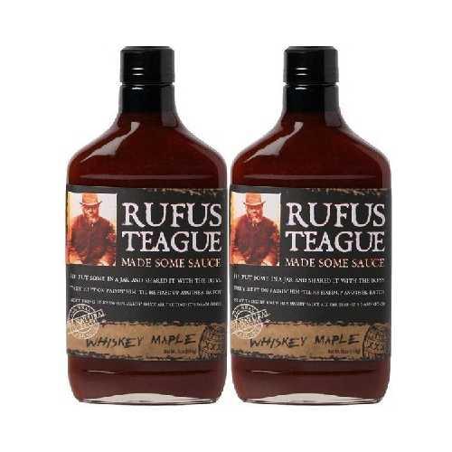 Rufus Teague Whiskey Mapple Bbq Sauce (6x16OZ )
