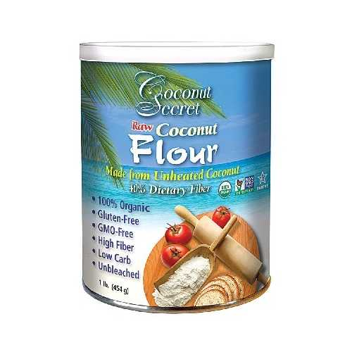 Coconut Secret Raw Coconut Flour (12x16OZ )